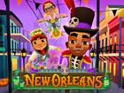 Willkommen in New-Orleans! Sind Sie bereit, eine U-Bahn-Fahrt zu unternehmen un