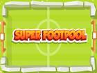 Super Footpool ist ein Fußballspiel wie Billard. Sie müssen den Wink