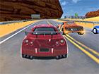 Wählen Sie Ihren Supermodelsportwagen und starten Sie mit dem Rennen. Vers
