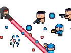 Super CTF ist ein rasanter Multiplayer-Modus, der die Flagge mit Waffen und F&a