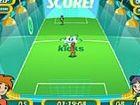 SuperSpeed 1 auf einem Fußball - Spiel Kopf an...