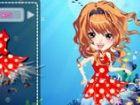 Sie lebt in der Tiefsee diese süß und nett Fee namens Hali. Sie hilft Mensche