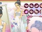 Die kleine Prinzessin in diesem Mode Spiel ist wegen ihrer Garderobe eine unend