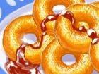 Ob Sie essen süße Krapfen oder süße Krapfen entweder, wie Sie jeden Bissen