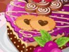 Schmücken Sie Ihren Schatz Kuchen. Denken Sie daran, dieser Kuchen wird spezie