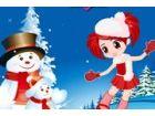 Tanz mit Schneemann - Tanz mit Schneemann Spiele - Kostenlose Tanz mit Schneema