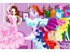 Dieser tanzende Königin hat viele Kleider tragen bei ihren Tanz-Sessions. Wäh