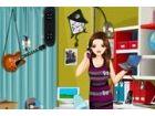 Clarissa ist eine versierte Mädchen; Sie trägt immer ihr Notebook und Handy m