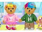 Ist Teddybären Liebe sehr interessant? Wow, sie verlieben sich ineinander und