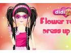 Teen Mädchen mit Blumen - Teen Mädchen mit Bl...