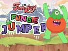 Ein springendes Arcade-Spiel, bei dem du Fungie dabei hilfst, so hoch wie m&oum