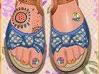 Gestalten Sie Ihre Zehen mit vielen Optionen Maniküre, Wahl und Farben. Es gib
