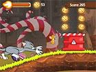 Tom und Jerry Schokolade Jagd ist ein Verfolgungsspiel für Katz und Maus.