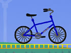Steuern Sie ein Fahrrad in Tomolo Bike und bringen Sie es ins Ziel, ohne abzust