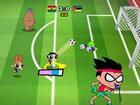Toon Cup Africa ist ein großartiges Fußballspiel mit Charakteren aus verschie