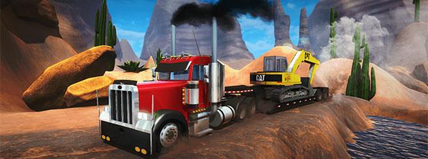 18 Wheeler Cargo Simulator ist ein neues 3D-Fahrersimulatorspiel, das kostenlos