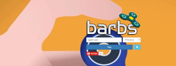 Spielen Barbs.io ist ein lustiges Spitz-Spinner-Spiel - Barbs.io ist eines der