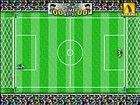 Eine übliche Fußballspiel, das 1:1 wie in den Straßen gespielt werden kann.