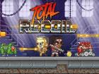 Total Recoil ist ein lustiges Plattformspiel, mit dem du fantastische Stunts ma