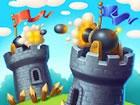 Tower Crush ist Ein Turmverteidigungsspiel, in dem Sie Ihren Turm mit Tonnen vo