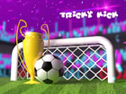 Tricky Kick ist ein Fußballspiel, für das Sie zu viel Geschick ben&o