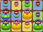 Spiele ein fesselndes Puzzlespiel, in dem du bunte Puppen kombinierst, um im Sp