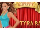 Tyra Banks ist ein schönes Modell, gedrehte Talkmaster und Schauspielerin. Kle