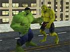 Werden Sie ein großes grünes Monster und schützen Sie die Stadt