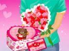 Heute ist Valentinstag; Es ist das fest der Liebe und Romantik! Was gibst du Ih