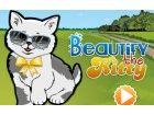 Diese niedlichen kleinen Kätzchen will einen neuen Look zu haben  Anzuziehen