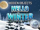 Genieße dieses Winterspiel! Finden Sie alle Objekte auf dem Bildschirm so