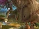 Ein Fluchtspiel, das dich in einen Wald der versteckten Eulen entführt. Da