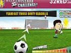Villa Latte Challenge - tritt den Ball auf die Latte für das Ziel so oft wie m