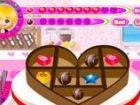 Sie haben einen Schokoladen-Shop und Ihrer Zerstampfung besucht es Ihre leckere