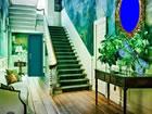 In diesem Wandgemälde Moderne Haus...