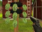 Wassermelonen Schütze ist eines der unterhaltsamsten Shooter-Spiele, in de