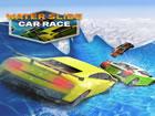 Willkommen zum neuen erstaunlichsten Wasserrutschenauto-Stunt-Rennspiel der neu
