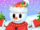 Let�s bauen einen Schneemann, unser Garten aussehen festlich und schön! Das