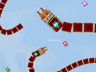 Weihnachten Züge ist ein Echtzeit-Multiplayer-Spiel, in dem du einen Weihn