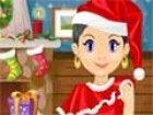 Das Haus und Weihnachtsbaum sind komplett eingerichtet, das Essen\r\n und Pl�