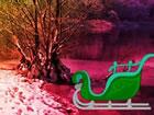 In diesem Weihnachtswagen Wald Fluchtspiel b...