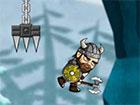 Wikinger Weise ist ein tolles Lauf- und Sprungspiel. Lauf mit dir Viking schnel