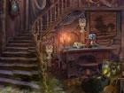 Ein siegreicher Streifenhörnchen lebte in einem verlassenen Palast. Der si