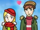 Was ist die lustigste Winter-Aktivität? Aufbau eines Schneemannes nach einer g