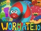 Wormate .io ist ein Multiplayer-Spiel, das vom Spiel Slither .io inspiriert wur