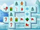 Ein dreifaches Mahjong-Spiel mit Weihnachtsthema. Sie können nur drei glei