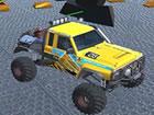 Sind Sie bereit für den neuen Offroad-Truck 4x4 und den Abriss-Derby-Autou