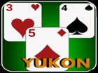 Yukon Solitaire-Spiel - es ist eines der meistgespielten Solitaire Spiele. Die