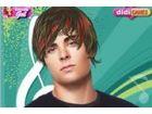 Zac Effron, ist das Star von High School musical für Sie ihm eine komplette Um