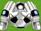 Zerschlagung Fußball - stellen Sie Ihre Fähigkeiten Torwart gegen den ultimat